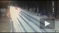 Смертельная авария на Приморском шоссе попала на видео