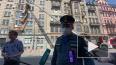 МЧС прокомментировало обрушение балконов на Кирочной