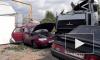 """5 пьяных мужчин угнали машину и разбили грузовик МАЗ и два """"Жигули"""""""
