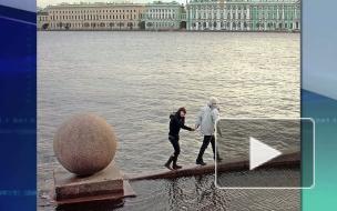 В Петербурге из-за угрозы наводнения закрыта дамба