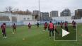 """Видео: """"Зенит"""" провел открытую тренировку перед игрой ..."""