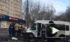 """В Москве на Малой Филевской микроавтобус с детьми столкнулся со """"скорой"""""""