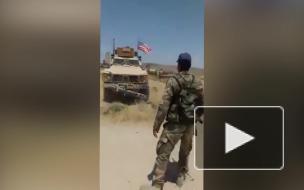 Опубликовано видео инцидента между военным США и офицером САА