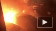 На Савушкина в пожаре пострадали пять автомобилей