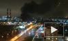 Из ангара на Салова из-за пожара эвакуировали 100 человек
