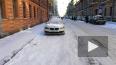 Видео: на Радищева коммунальщики сбрасывают наледь ...