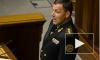 Новый министр обороны Украины пообещал победный триумф в Севастополе и подписал присягу закрытой ручкой
