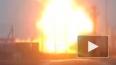 Опубликовано видео с места взрыва газопровода в Гатчине