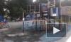 ВКрасногвардейском районе вандалысожгли детскую площадку