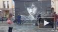 На улице Восстания обновили граффити с Виктором Цоем: ...