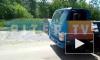 Видео: на Будапештской прорвало трубу, образовалась угроза обрушения грунта