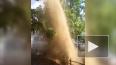 Еще несколько грязевых фонтанов забили на Васильевском ...