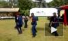 Видео: в Гане во время плясок на похоронах уронили покойника