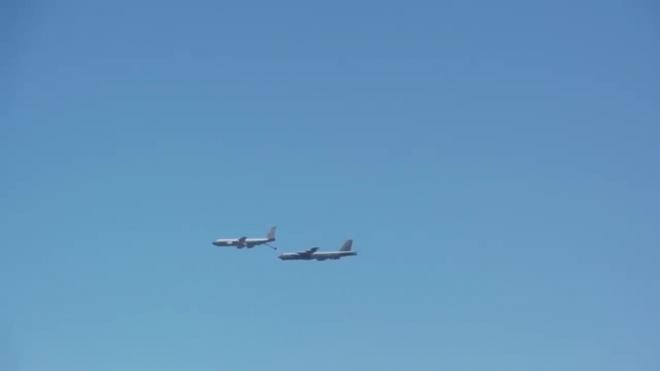 Бомбардировщики ВВС США приблизились к Крыму со стороны Украины