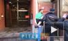 Появилось видео задержания петербуржца, кинувшего чашку с кофе в Генконсульство США