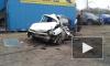 На улице Латышских стрелков грузовик без тормозов смял 4 автомобиля
