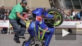 В Петербурге показали трюки на мотоциклах