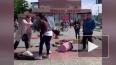 В Улан-Удэ перевернулся батут под прыгающими детьми: ...