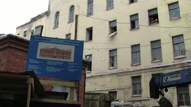 Дом на Невском, 68 продолжили разрушать