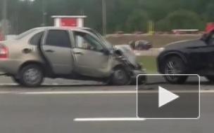 Пенсионер на BMW разворачивался через двойную сплошную и устроил ДТП