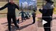Жители Колпино продолжают выходить в парки и заниматься ...