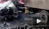 В ДТП с микроавтобусом и грузовиком в Тамбовской области заживо сгорели 6 человек