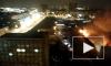 Видео: в Королёве горит склад