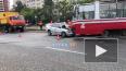 На проспекте Солидарности легковой автомобиль столкнулся ...