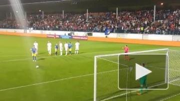 Сборная Косово сыграла свой первый официальный матч