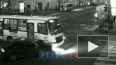 Видео: на Восстания маршрутка столкнулась с легковушкой