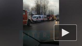 "Пожар в ""Автотехцентре"" на улице Салова тушили почти час"