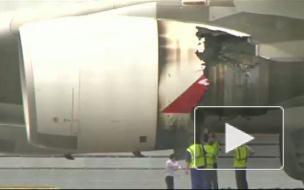 Самолет с неисправным двигателем приземлился в Сингапуре