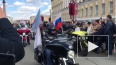 Байкеры открыли мотосезон в центре Петербурга