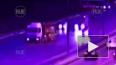 Опубликовано видео момента ДТП с двумя грузовиками ...