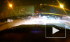 Видео: поезд сбивает грузовик, выехавший на закрытый переезд