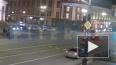 Появился момент ночного ДТП с пострадавшим пешеходом ...