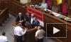 Появилось видео драки пьяных украинских депутатов из-за русского языка