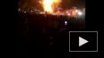 Жуткое видео из Индии: Во время фейерверка поезд раздави...