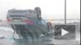 Видео: на Парашютной перевернулся BMW X6