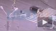 На пешеходном переходе в Купчино автомобиль сбил человек...