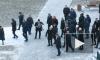 Путина встретили с оркестром на торжественном открытии памятника Даниилу Гранину