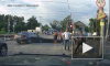 Кавказцы угробили BMW в нелепом ДТП на подмосковном переезде