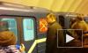 На синей ветке метро поезда идут с задержкой из-за поломки состава