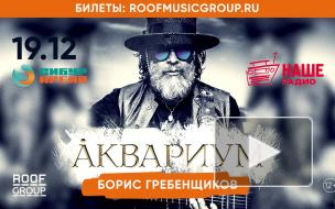 """Концерт Бориса Гребенщикова и группы """"Аквариум"""""""