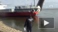 В Якутии на реке Лена столкнулись два парома