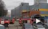 """МЧС: около гипермаркета """"Лента"""" загорелась трансформаторная подстанция"""