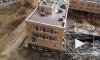 После обрушения школы в Мурино возбуждено уголовное дело