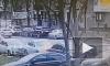 Видео: на улице Ленсовета произошло ДТП из-за невнимательного водителя