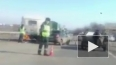 Жуткое видео из Рязани: легковушка протаранила автобус