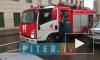 В Петербурге потушили крупный пожар на металлобазе
